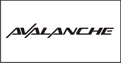 Avalanche Windshield Decal