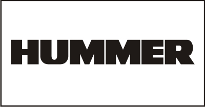 Hummer Windshield Decal